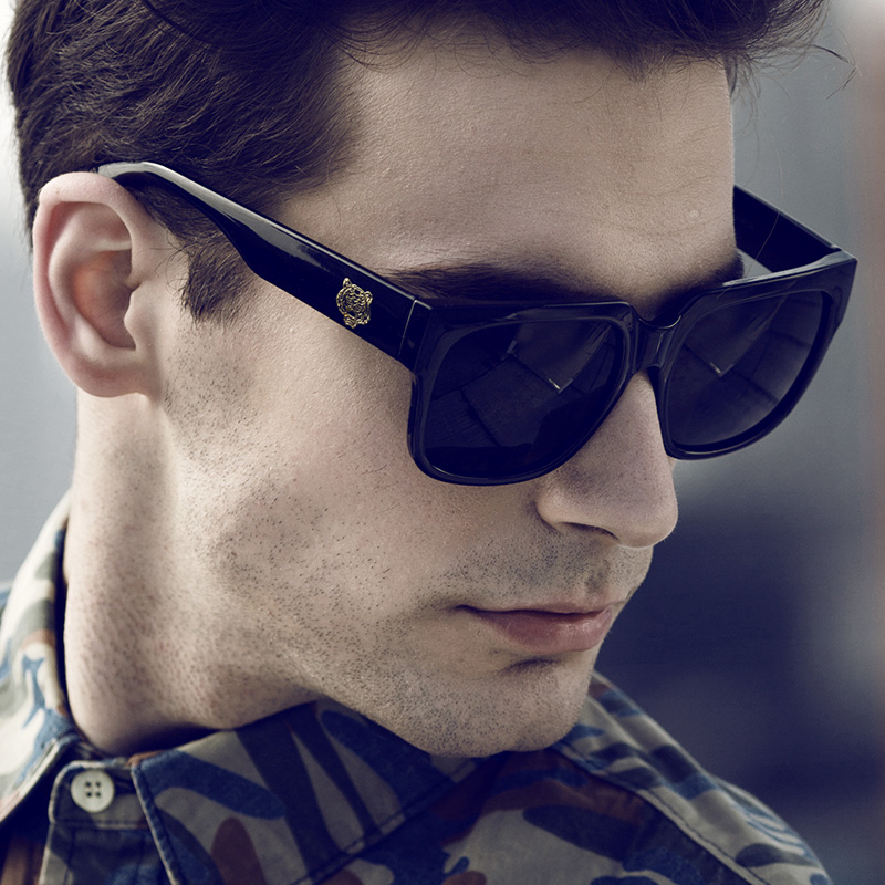 2016 New Original Brand Sunglasses Men Glasses Fashion Shades Male Black Eyewear Women Points sun Outdoor