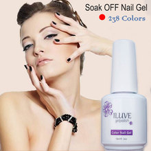 iLuve Professional Long Lasting Gel Polish Gelpolish New Fashion Gel Nail Polish Soak off LED UV