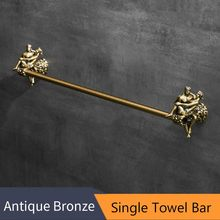 Бронзовый держатель для туалетной бумаги, романтическая серия, настенный держатель для туалетной бумаги, аксессуары для ванной комнаты, де...(Китай)