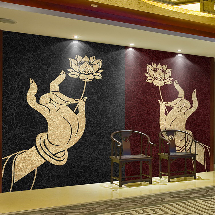 online kaufen gro handel buddha tapete aus china buddha tapete gro h ndler. Black Bedroom Furniture Sets. Home Design Ideas