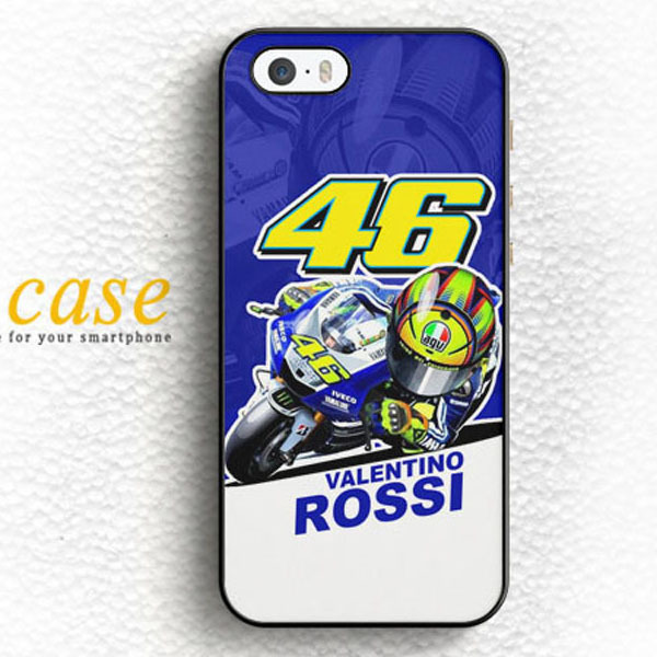 save off 025a9 54f5c VALENTINO ROSSI MOTOGP VR46 Custom Hard Skin Mobile Phone Cases Accessories  For iPhone 6 6 plus 5c 5s 5 4 4s Case Cover Original