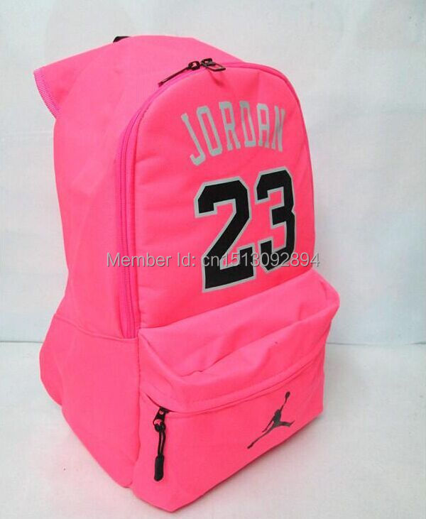 Wholesale New Number 23  Backpacks School Bags Sports Bags Men And ... 8a6bb62695235