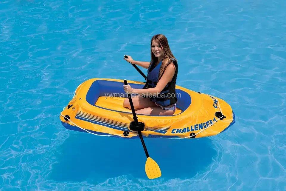 hot vente seul petit bateau gonflable en plastique bon march pour la vente des bateaux en chine. Black Bedroom Furniture Sets. Home Design Ideas