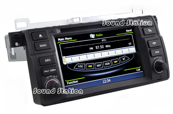 for bmw e46 m3 3 x3 z3 z4 auto car dvd gps navigation. Black Bedroom Furniture Sets. Home Design Ideas