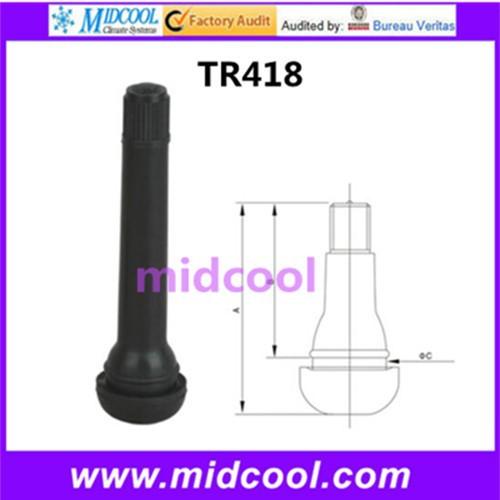 10 шт. TR418 клапаны бескамерные резиновых шин стебли шин авто
