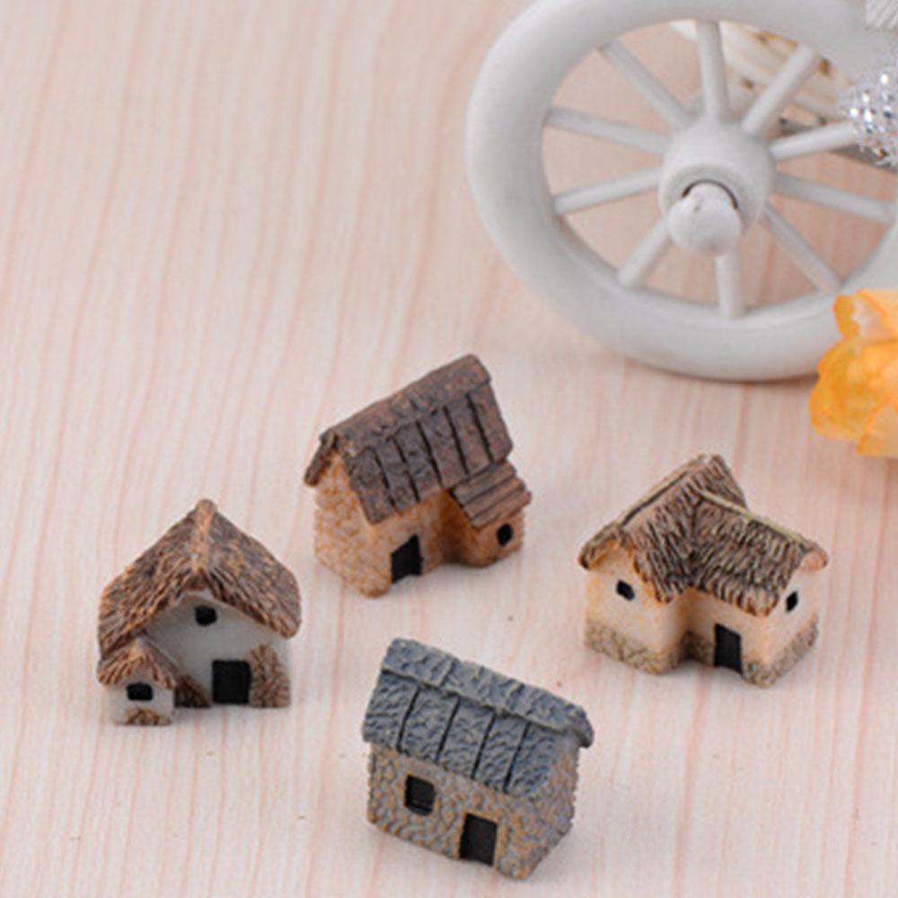 Maison Gadget Micro Decoration Mini Paysage Maison Jardin Batiment Resine Mignon Accessoires A Creer Soi Meme Ornement Miniature En Plein Air