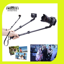 YunTeng 188 Self-timer Stick tripod monopod for camera and phone monopd for gopro Good quality free shipping