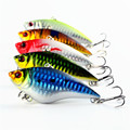 5pcs Pesca isca artificial 7cm 16g VIB artificial bait hook boat fishing lures lead fish Lifelike