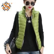 Plus Size Autumn Winter Coat Women Ladies Gilet Colete Feminino Casual Waistcoat Female Sleeveless Cotton Vest Jacket Z36