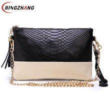 Free shipping leather Tassel handbags shoulder bags messenger bag Day clutch Chain bag small bag women's clutches C70-41