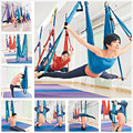 Decompression Hammock Inversion Trapeze Anti Gravity Aerial Traction Yoga Gym Fitness Swing Sling Hanging Blue