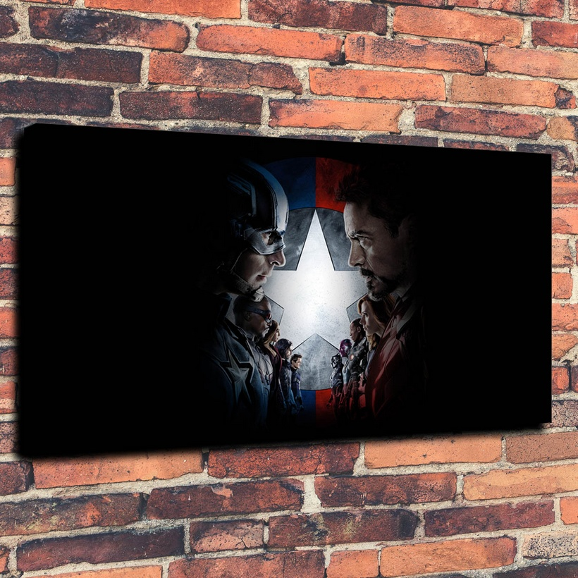 Canvas Prints Wall Art Decorative Painting Western Home Decor Which Captain America Civil War( No Framed )