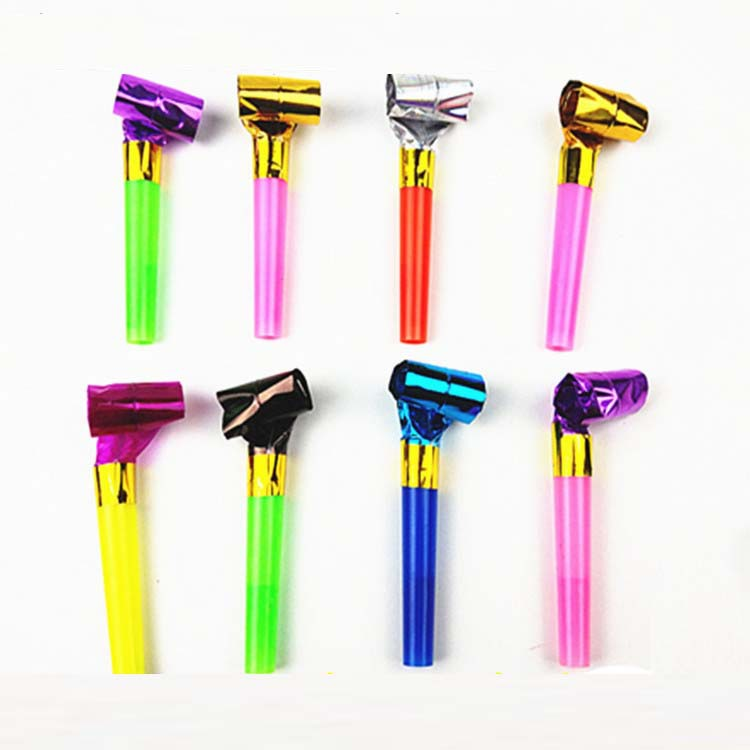 New Years Birthday Party Favor Blow Noise Makers -in Event