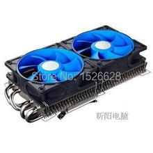 Free shipping dual 9cm fan,4 heat pipe, for NVIDIA /ATI Graphics Cooler,VGA Fan VGA cooler, Deepcool V4600 God wing graphics fan