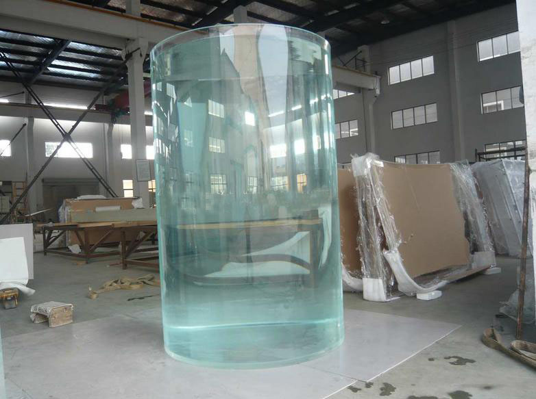 Clear Large Diameter Acrylic Tube For Aquarium Project