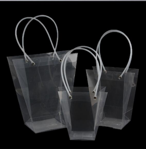 Popular Clear Plastic Bags with Handles-Buy Cheap Clear