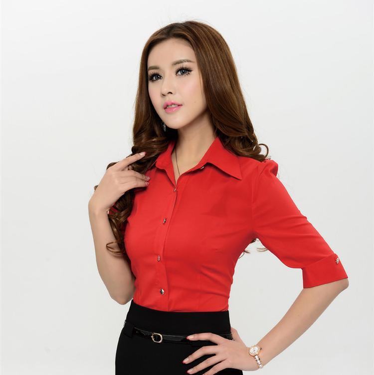 La moda de nueva 2015 Tops tallas grandes mujeres blusa