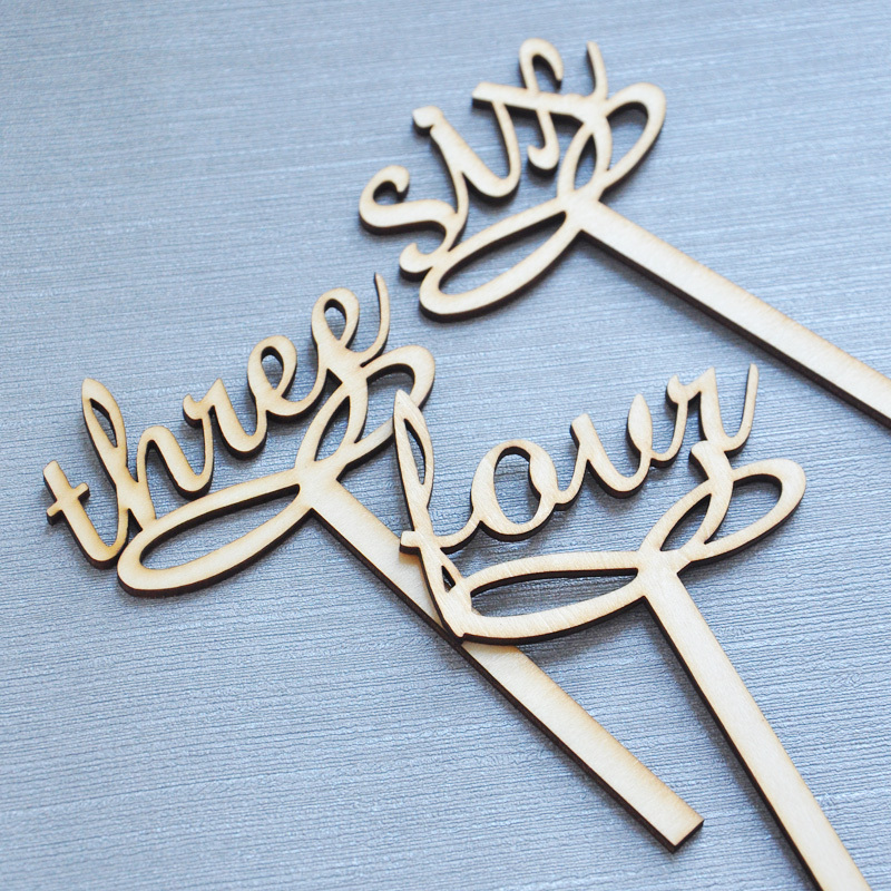 Wedding Table Numbers Wooden: Wedding Table Number, Wooden Table Numbers, Rustic Wedding