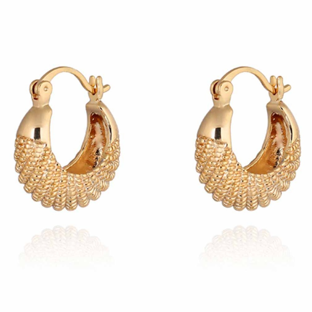 Summer style Fashion Gold Earring CC Simple Design Fine ...