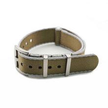 Новый дизайн серый хаки нейлоновый ремешок для часов Omega часы с ремнем безопасности ремешок Nato 22 мм(Китай)