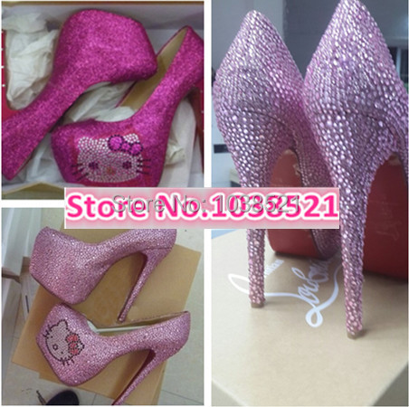 913fcb072 hello kitty red bottom heels