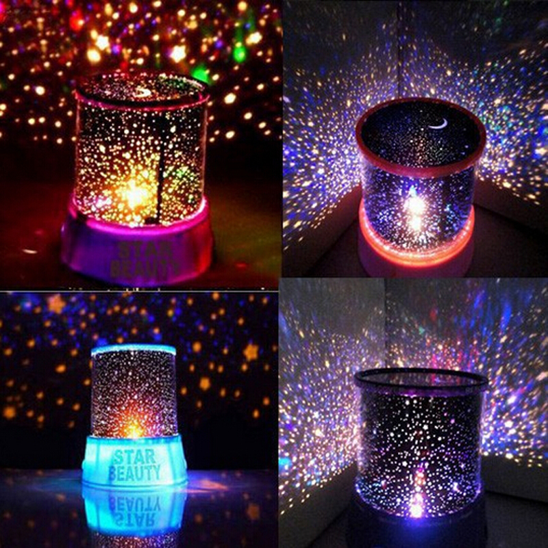 Novelty Led Night Light Lamp Amazing Colorful Sky Star For