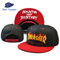 2016 new brand Thrasher Gosha Rubchinskiy snpback flat brimmed hat baseball cap adjustable hat men and