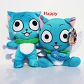 Fairy Tail Happy plush toy Japanese anime fairy tail figure happy cute plush doll 25cm for