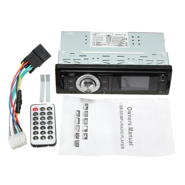 Автомобиль автомобиль радио музыкальный проигрыватель MP3 в-dash fm-usb для SD AUX вход приемника