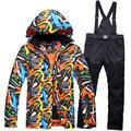 Sets witer warm 30 Cheap Ski Suit Men Snowboard Clothes Waterproof 30 Warm Winter Coat Snow