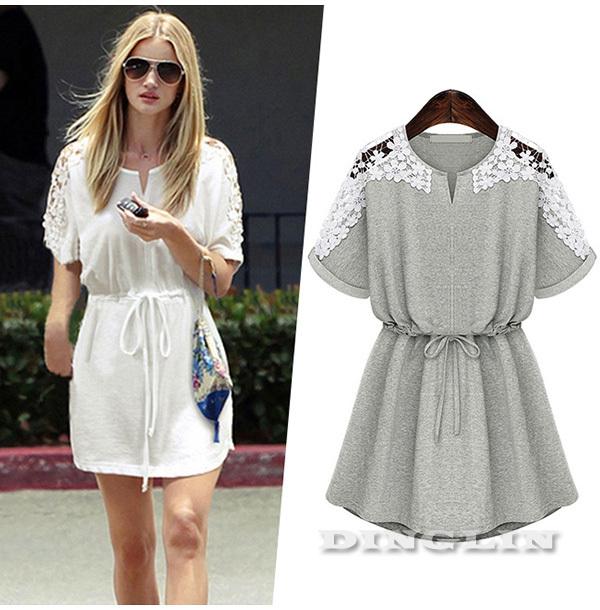 971beb0c9c0 Wholesale 2015 Summer New Womens Ladies Female Short Sleeve Applique ...