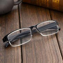 Классические Легкие квадратные очки для чтения, линзы из смолы для мужчин и женщин, очки дальнозоркости с + 1,0 + 1,5 + 2,0 + 2,5 + 3,0 + 3,5 + 4,0(Китай)