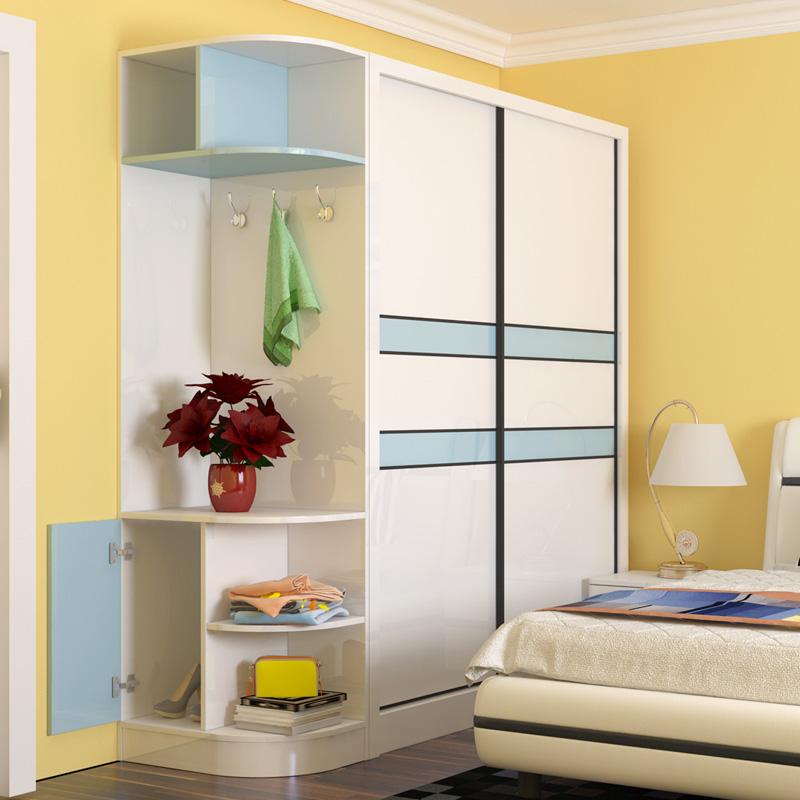 I Shape Bedroom Wall Wardrobe Design With Sliding Door - Buy Bedroom Wall  Wardrobe Design,Bedroom Wall Wardrobe Design,Wardrobe With Sliding Door ...