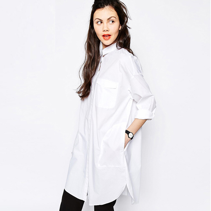 Fit A Line Button down shirts Tops SAYM Women Oversize Pocket Open Fork Hem Long Shop Best Sellers· Deals of the Day· Fast Shipping· Read Ratings & Reviews.
