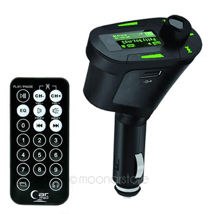 Высокоскоростной USB порт Car Kit MP3 плеера DC12-24V беспроводной FM передатчик радио модулятор с USB SD MMC +