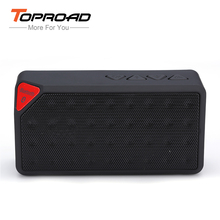 Mini Bluetooth Speaker X3 Jambox Style TF USB FM Wireless Portable Music Sound Box Subwoofer Loudspeakers with Mic caixa de som