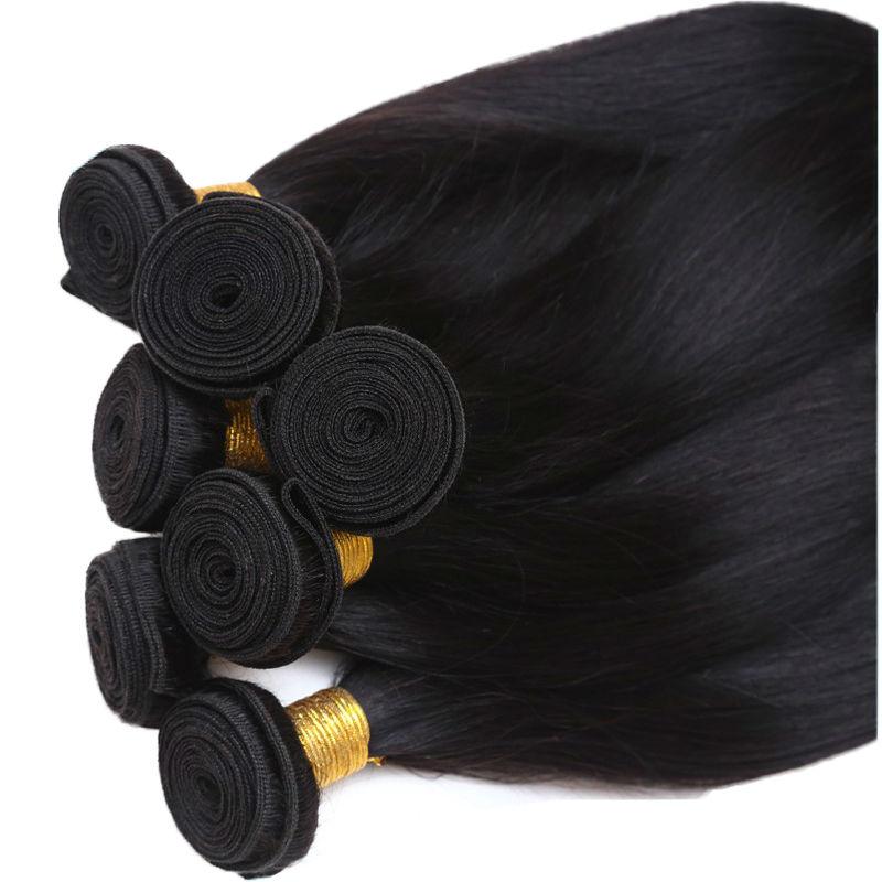 Grade 7a Unprocessed Virgin Hair 4 Bundles Peruvian Virgin ...