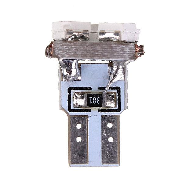 Большое продвижение по службе 2x T5 клин 3 из светодиодов 3528 СМД авто спидометр приборной панели приборной панели датчик фары лампа белый синий DC12V