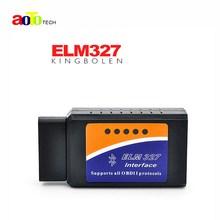 ELM327 Bluetooth V1.5 Interface Works On Android Torque Elm 327 Bluetooth OBD2/OBD II Car Diagnostic Scanner