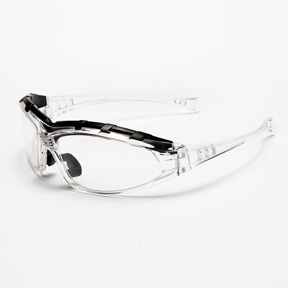 2 шт. новый HQ безопасности / защитные очки прозрачный с брови работа защитные очки ветра и пыли очки противотуманные медицинский