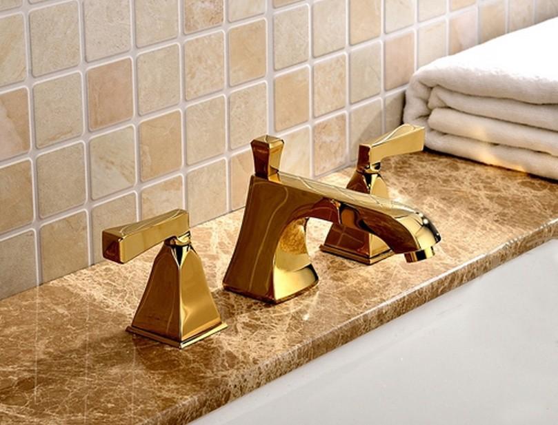 online kaufen gro handel gold badarmaturen aus china gold badarmaturen gro h ndler. Black Bedroom Furniture Sets. Home Design Ideas