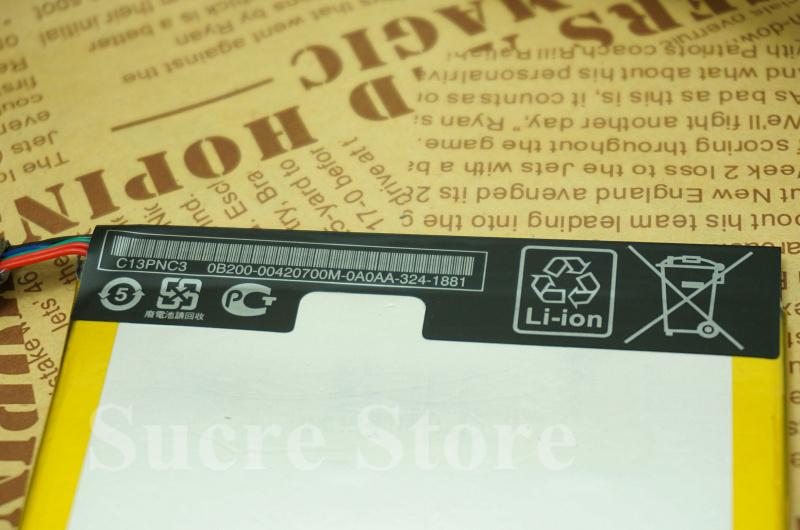 Планшет замена аккумулятор 3,8 v 3950 мАч C11P1303 для ASUS Google Nexus 7 2gen Nexus7 II 2 2nd ME571 ME57K