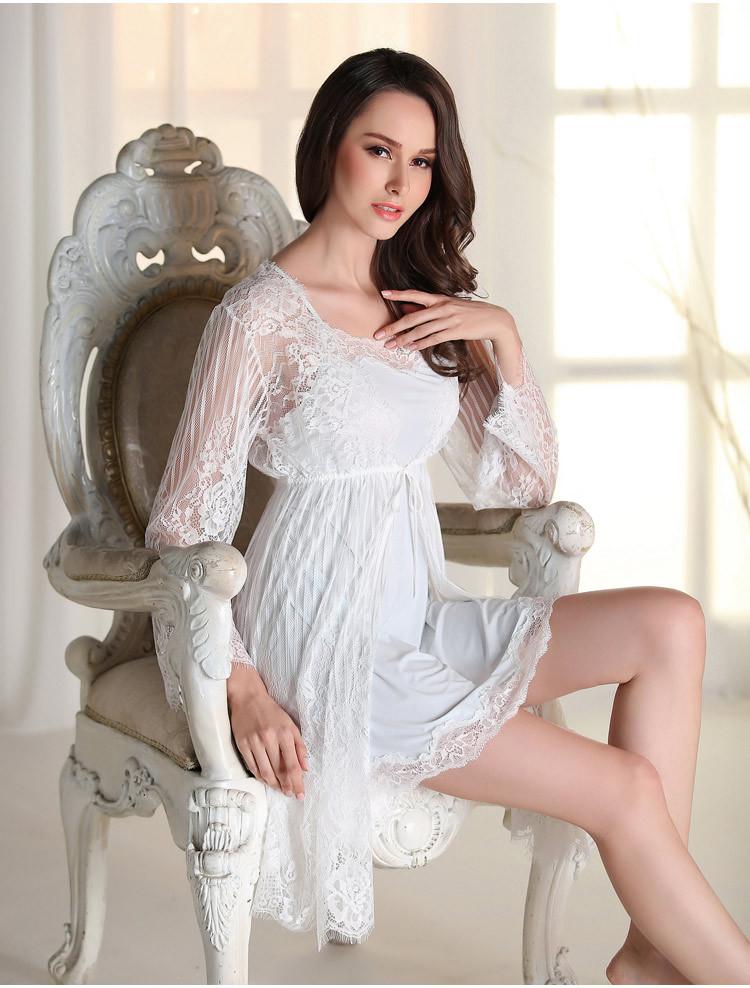 2 תמונות הנסיכה פיג ' מה סקסית ריס תחרה כתונת מיקרופייבר שחור ואדום אמולציה משי Condole החגורה לישון נסיכה גלימת.