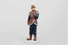 6pcs Lot Anna Elsa Hans Kristoff Sven Olaf Vinyl Doll Toys frozenly Doll Action Figures Birthday