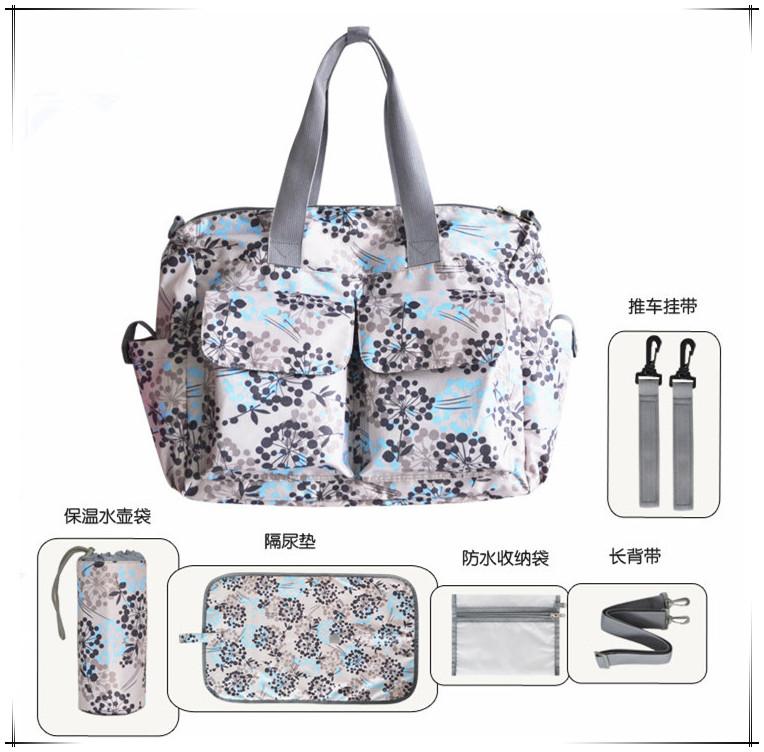 Fast Delivery Fashion Mummy Bag Hanbags Shoulder Bag Larger Capacity 40*34*16CM Zipper Dipper Bag 10 Colors Babies Care Product