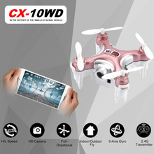 Newest RC Quadcopter Cheerson CX 10WD CX10WD CX 10WDTX rc drone Wifi FPV High Hold Mode