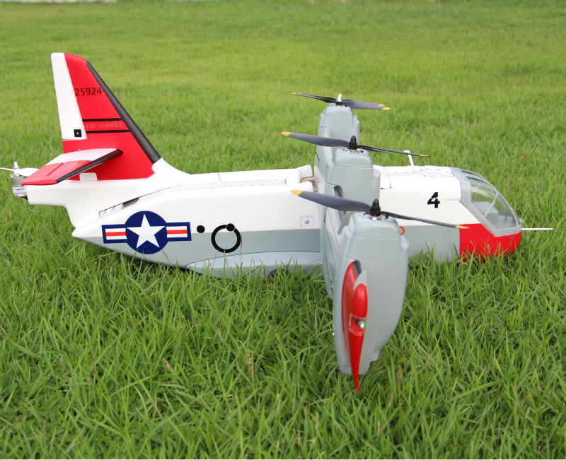 XC 142 VTOL Vertical Take Off RC Aircraft PNP In Stock-in