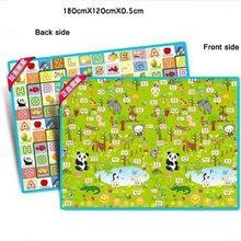 Игровой коврик для ползания, Детский развивающий коврик с буквами алфавита(Китай)