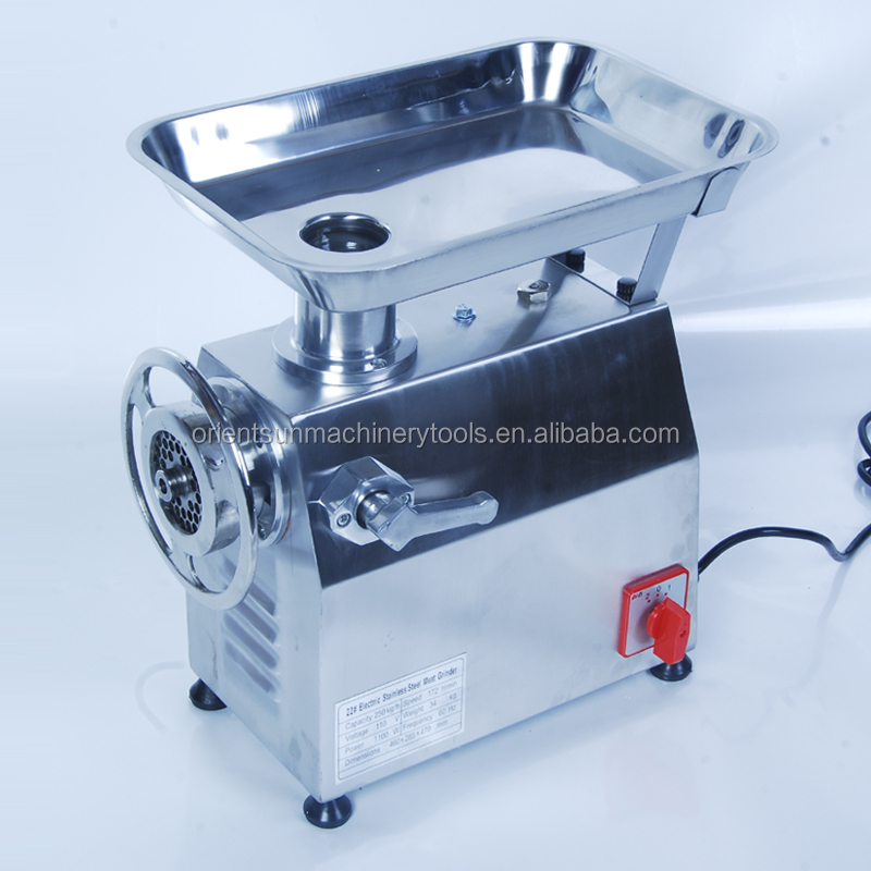Professional Electric Meat Mincer 32 Stainless Steel Meat