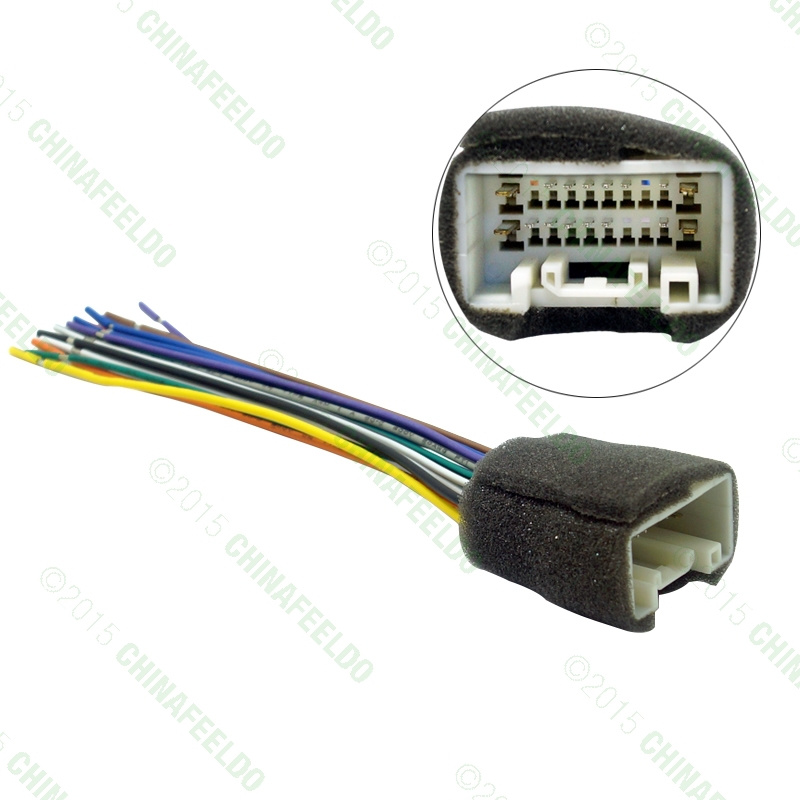 car radio stereo wiring harness adapter for mitsubishi. Black Bedroom Furniture Sets. Home Design Ideas
